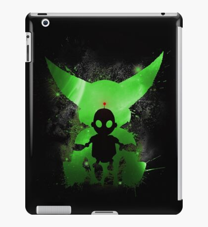 Ratchet & Clank Galaxy (Green Version) iPad Case/Skin