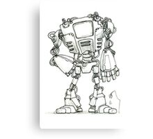 Just robot Canvas Print