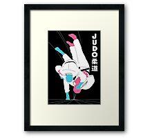 JUDO - UCHIMATA Framed Print