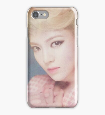 SNSD / LION HEART / HYOYEON / WATERCOLOR iPhone Case/Skin