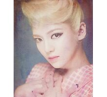 SNSD / LION HEART / HYOYEON / WATERCOLOR Photographic Print
