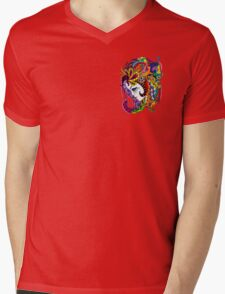 Tenndrille With Tendrills Mens V-Neck T-Shirt