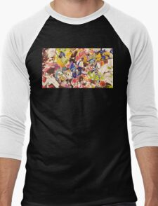 Splatoon - Time for Fun Men's Baseball ¾ T-Shirt