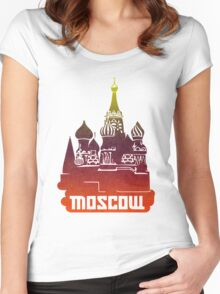 Moscow Women's Fitted Scoop T-Shirt