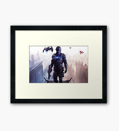 Killzone ShadowFall Framed Print