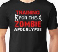 Training For The Zombie Apocalypse Unisex T-Shirt