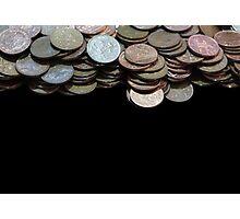 Money Games Photographic Print