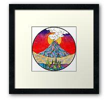 The Alien Planet Framed Print