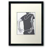 Bones boy Framed Print