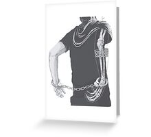 Bones boy Greeting Card