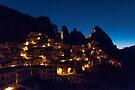 early dawn light, Castelmezzano, Basilicata, Italy by Andrew Jones