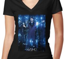 now you see me 2 Women's Fitted V-Neck T-Shirt