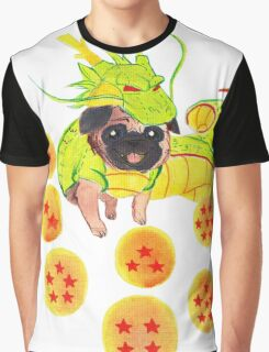 Shenron Pug Graphic T-Shirt