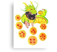 Shenron Pug Canvas Print