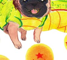 Shenron Pug Sticker
