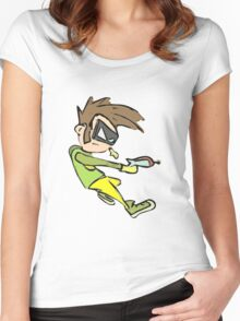 Chip in Action Women's Fitted Scoop T-Shirt