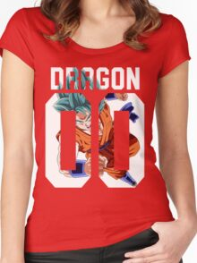 Goku God American Women's Fitted Scoop T-Shirt