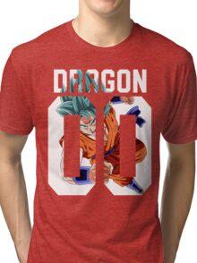 Goku God American Tri-blend T-Shirt