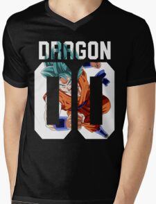 Goku God American Mens V-Neck T-Shirt