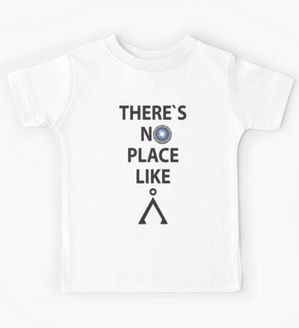There`s no place like Earth(Tau'ri) - Stargate Kids Tee
