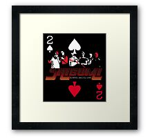 Shibumi, A Wicked, Soulless Game! Framed Print