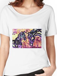 Fantasy Mare And Foal Women's Relaxed Fit T-Shirt