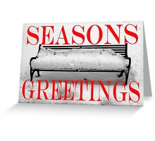 SEASONS GREETINGS 33 Greeting Card