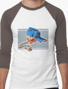 Bonehead 0016 Men's Baseball ¾ T-Shirt