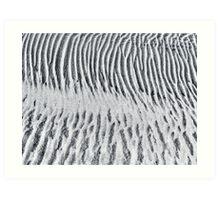 Sand Stripes Art Print