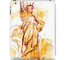 LIBERTY STATUE iPad Case/Skin