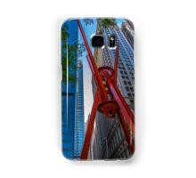 Street Sculpture Downtown Manhattan New York Samsung Galaxy Case/Skin