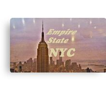 Empire State Building in Dawn Mist Canvas Print