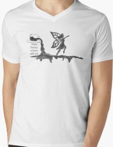 Spilled Ink Fantasy Fairy Mens V-Neck T-Shirt