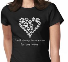Pet lover Womens Fitted T-Shirt
