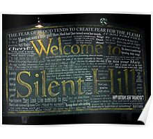 Silent Hill Sign Quotes Poster