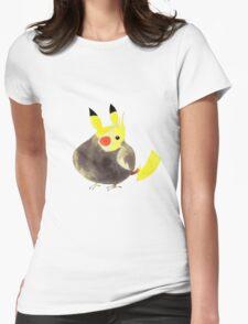 Pikatiel Cockatiel  Womens Fitted T-Shirt