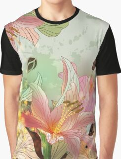 Shining lilies composition Graphic T-Shirt