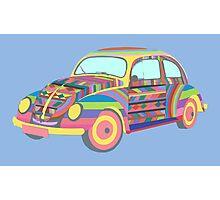 Beetle - Coloured Photographic Print