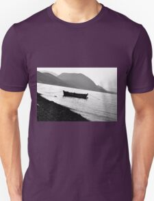 Lonely Boat Photograph Unisex T-Shirt