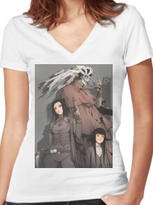 Ergo Proxy Women's Fitted V-Neck T-Shirt