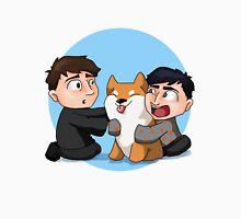 Dan, Phil and Shiba Inu Unisex T-Shirt