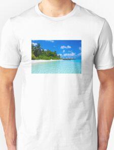 Honeymoon in the Maldives Unisex T-Shirt