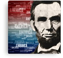 Patriot Abraham Lincoln Canvas Print