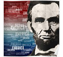Patriot Abraham Lincoln Poster