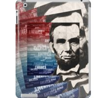 Patriot Abraham Lincoln iPad Case/Skin
