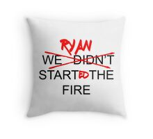 The Office US - Ryan Started the Fire Throw Pillow