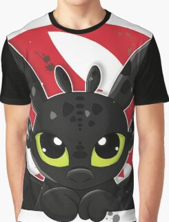How To Train Your Dragon, Toothless cute pocket Graphic T-Shirt