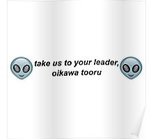 Take Us to Your Leader, Oikawa Tooru Poster
