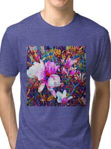 Magnolia blossoms Tri-blend T-Shirt