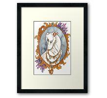 Amethyst Mirror Framed Print